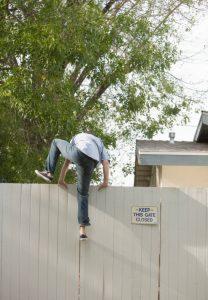 anti-climb fencing