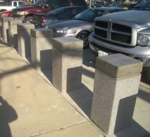 bollard spacing requirements