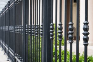 ornamental iron fences for apartment complexes