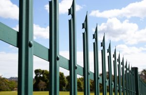 palisade fence security